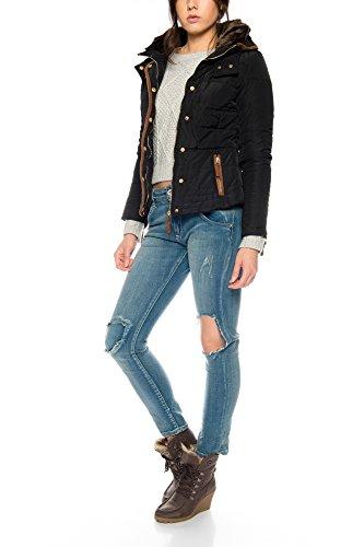 Chaqueta Mujer Damask vestir Sheek de Xapq1eew Jacket Black L4Rj5A3