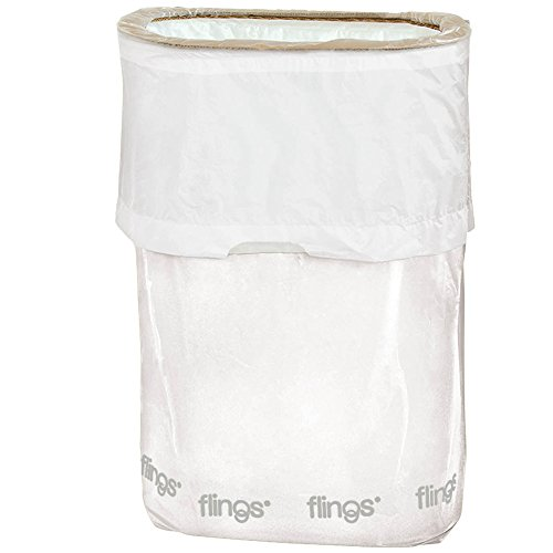[Amscan Flings Patented Pop-Up Trash Bin, 22 x 15 x 10