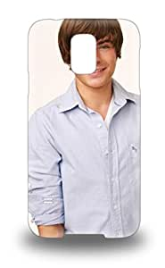 Forever Collectibles Zac Efron American Male High School Musical Hard Snap On Galaxy S5 3D PC Case ( Custom Picture iPhone 6, iPhone 6 PLUS, iPhone 5, iPhone 5S, iPhone 5C, iPhone 4, iPhone 4S,Galaxy S6,Galaxy S5,Galaxy S4,Galaxy S3,Note 3,iPad Mini-Mini 2,iPad Air )