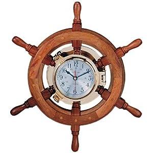 41ewp3Uve1L._SS300_ Coastal Wall Clocks & Beach Wall Clocks
