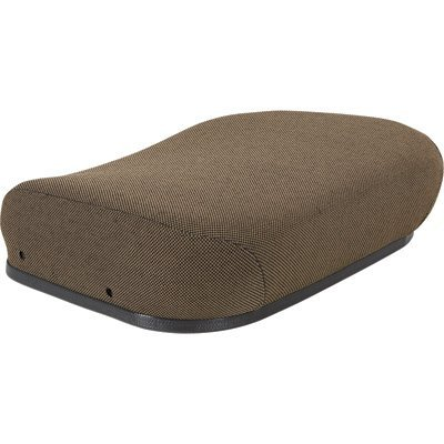 K & M Mfg. Hydraulic Personal Posture Seat for John Deere Tractors - Brown, Model# (Hydraulic Tractor Seat)