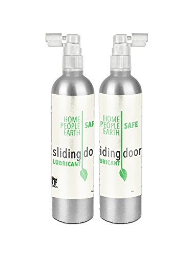 Sliding Door Lubricant - Mineral Based Zero-VOC Unscented - 2 pack - by Why The Frog (Best Lube For Car Door Hinges)