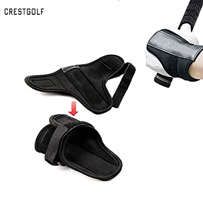 Crestgolf Wrist Over Glove Golf Swing Training Aid Tactic