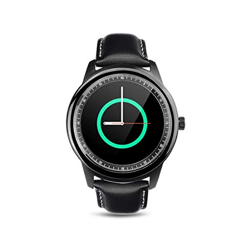 DBCSD Watches 1.33 inch On-Cell IPS Full View Capacitive Touch Screen MTK2502A-ARM7 Bluetooth 4.0 Smart Watch Phone, Support Facebook/Whatsapp/Raise to Bright Screen/Flip Hand - 1.33 Watch Inch Phone