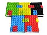 Colorful High Quality Silicone Building Blocks Notebook A6 Muti-color (Green), Baby & Kids Zone