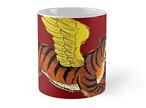 Tiger Tiger Flying Tiger Mug - 11oz Mug - Made from Ceramic - Best gift for family friends