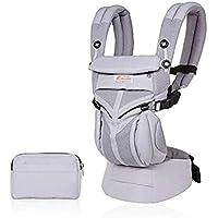 Bärsele för nyfödda till småbarn, 4-positioners Omni 360 cool luft, andas ergonomisk barnbärare