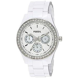 Fossil End of Season Stella Analog White Dial Women's Watch – ES1967I