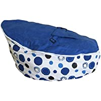 Babybooper Baby Beanbags, Blue Berry Burst, 4 Count