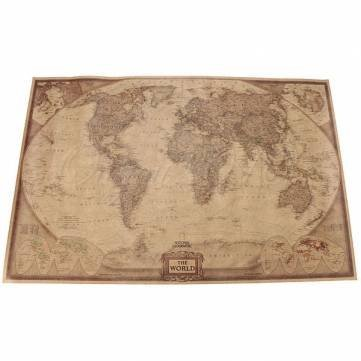 Sellify 7146 5cm brown paper antique world map wall chart poster 5cm brown paper antique world map wall chart poster gumiabroncs Image collections