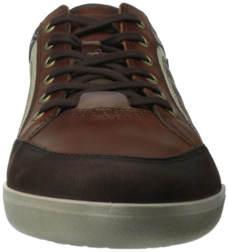 ECCO Enrico, Mocassini Uomo Marrone(coffee/Cognac/Shadow White 58306)