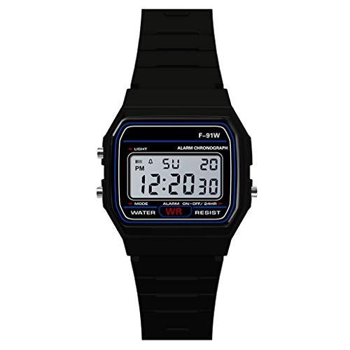 YEZIJIN Luxury Men Analog Digital Military Armys Sport LED Waterproof Wrist Watch Under 10