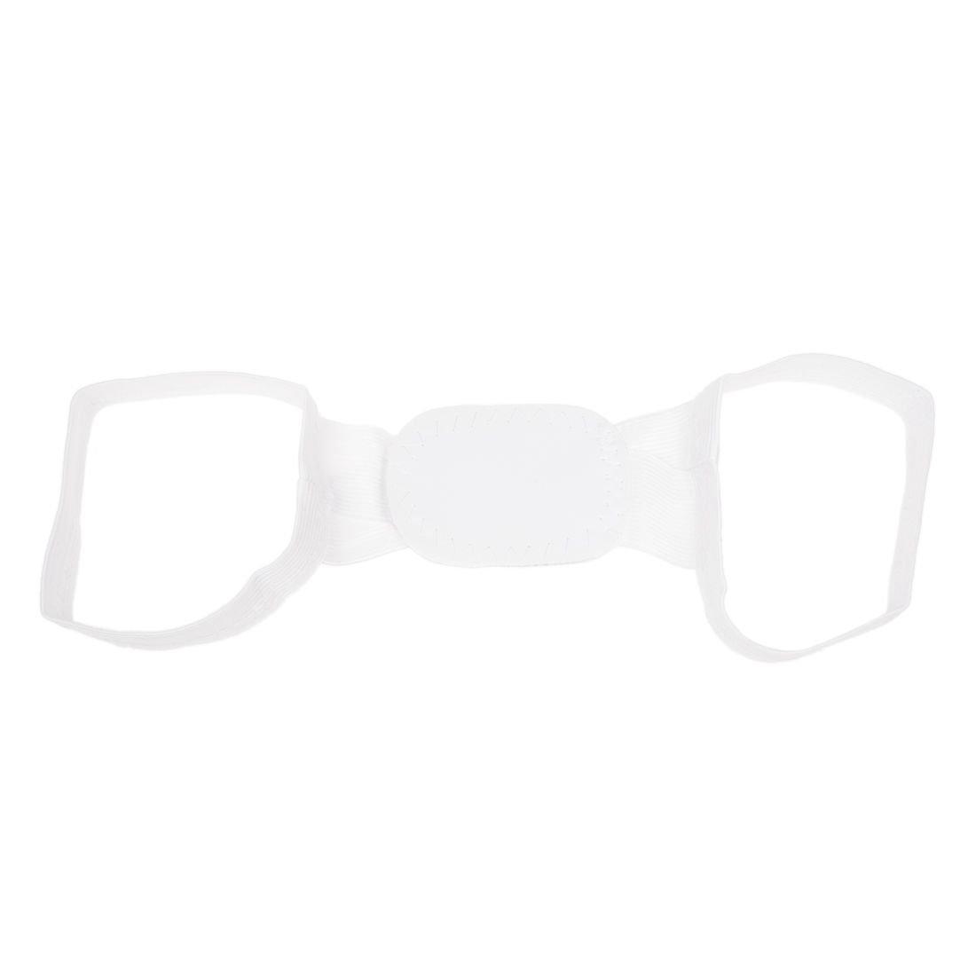 Beauty White Back Posture Women Body Shoulder Support Band Belt Brace Corrector