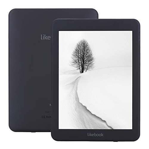 Free Original case Screen Protector Likebook Mars E-Book Reader EReader 7.8'' Carta 300ppi(14041872) E-Ink Touchscreen 8 Core 1.5GHz, Warm/Cold Light Audiojack, 2GB RAM+16GB Storage Android 6.0