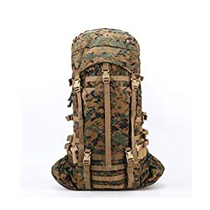 ZRWJ Tactical Backpack, Outdoor Tactical Camouflage Hiking Backpack, Jungle Digital Camouflage (Color : Camouflage Color)