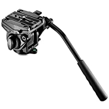 """Neewer® Video Camera Fluid Drag Head with Sliding Plate for DSLR Cameras, Camcorder, Monopod and Tripods with 3/8"""" Screw Mount, 8.82Lbs/4kg Load Capacity"""