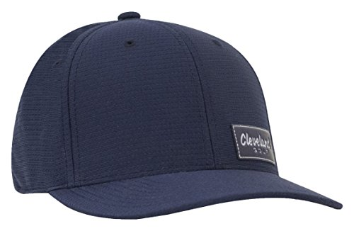 (Cleveland Golf Men's Tech Patch Golf Cap, One Size, Navy)