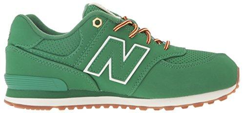 New Balance 574, Zapatillas Unisex Niños Verde (Green)