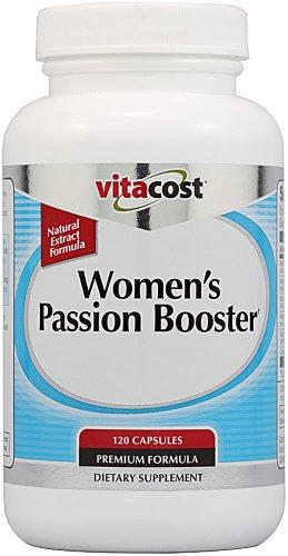 Booster Passion femmes Vitacost c'est tout Extraits Naturels - 120 Capsules