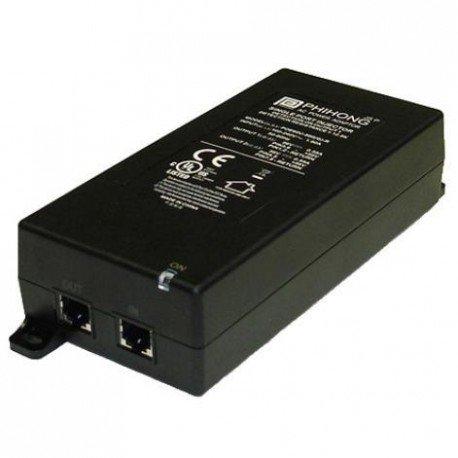 (Phihong POE61U-560DG-R Power Supply; AC-DC; 56V@1.071A; 90-264VIn; Pwr Over Ethernet; Injector; POE61U Series)
