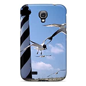 High-end Case Cover Protector For Galaxy S4(gulls)