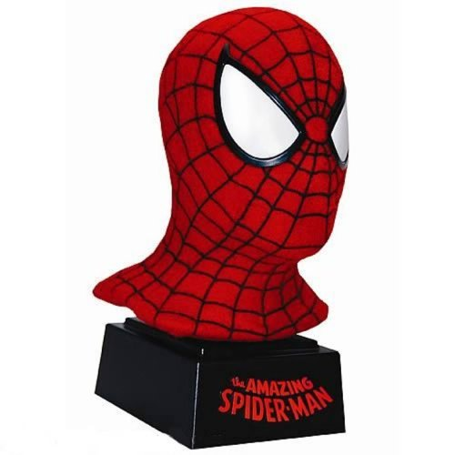 Classic Spider-Man Mask Scaled Replica by Master (Spiderman Mask Replica)