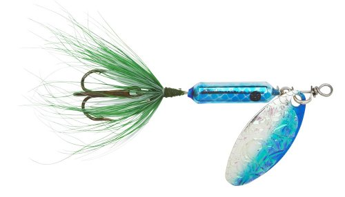 Yakima Bait Wordens Original Rooster Tail Spinner Lure, Flash Blue, (0.125 Ounce Lure)