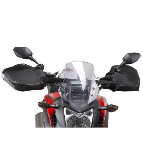 Compatible con Suzuki Burgman UH 125 Manoplas Givi TM418 Cubremanos Impermeable Universal para Moto y Scooter para manillares sin paramanos Negro