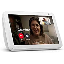 Echo Show 8 -- HD smart display with Alexa – stay connected with video calling - Sandstone