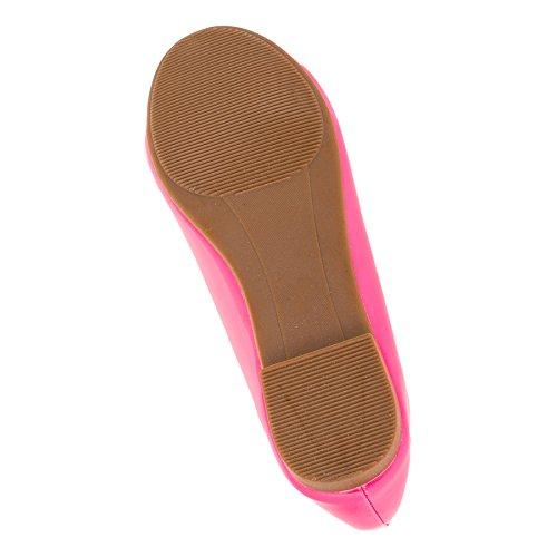 JiLi Bailarinas Para Niña M329-2pi Pink