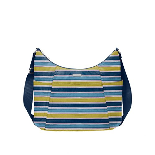 Baggallini Hobo Tote, Tropical Stripe by Baggallini