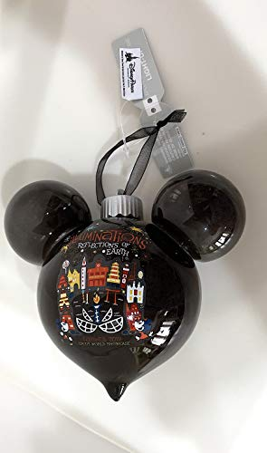 (Walt Disney World Epcot World Showcase Illuminations Reflection of Earth Farewell 2019 Ornament)