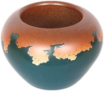 Handmade Blossom Flower Glaze Vases Short