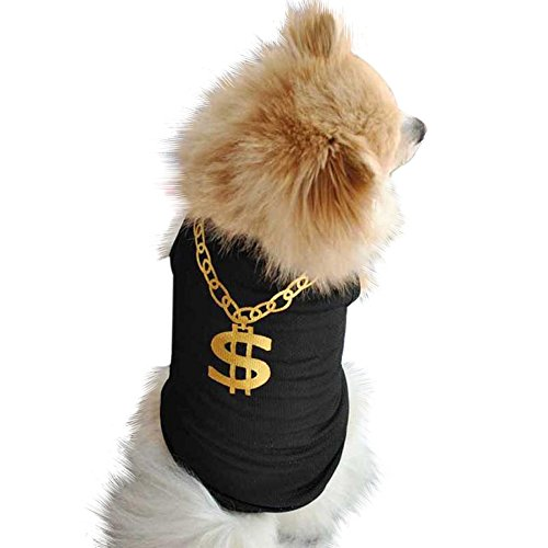 Price comparison product image Hot Selling!!Pet Clothes, Woaills Small Dog Cat Summer Vest T Shirt Puppy Apparel (M,  Black)