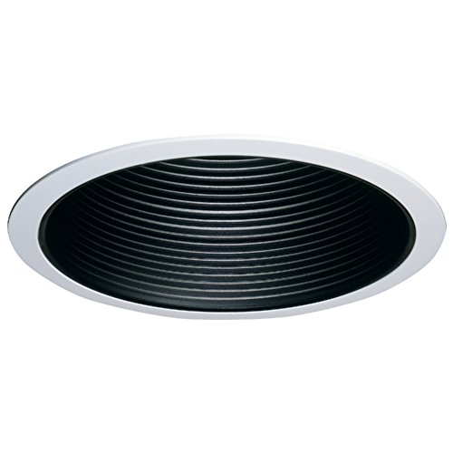 - Halo 310P Recessed Lighting Coilex Baffle & Trim, 6 In, White