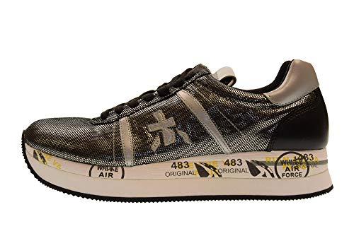 Scarpe Sneakers 3342 Donna Premiata Nero Conny Basse R6qwdC