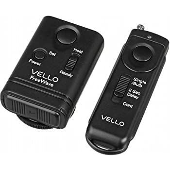 Amazon Com Vello Freewave Wireless Remote Shutter