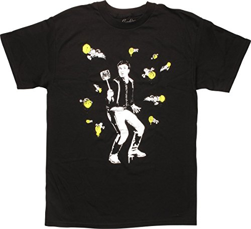 Firefly Malcolm Reynolds with Fly Swatter T-Shirt, X-Large