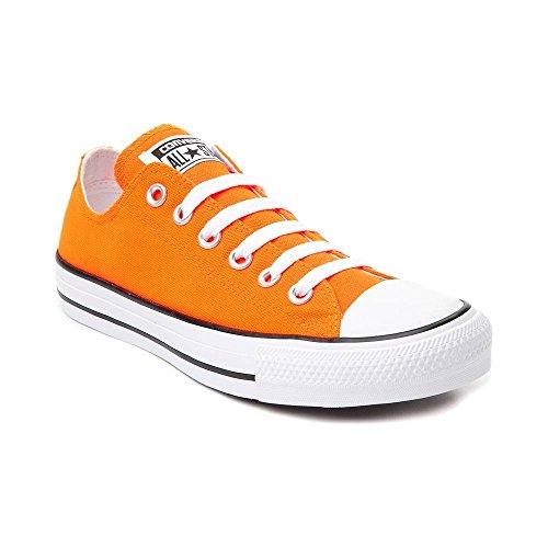 Converse Mens Scarpe Da Skateboard Alte Trapuntate Al Neon Arancione