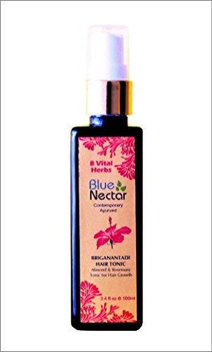 Blue Nectar Hair Tonic with Almond & Rosemary for Healthy Hair