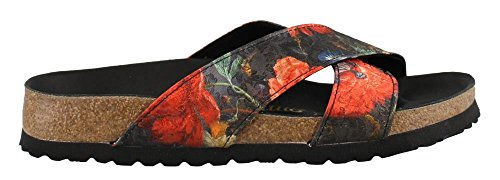Birkenstock Womens Daytona Lux Sandal Floral Bouquet Size 38 N EU (7-7.5 N US Women) by Birkenstock