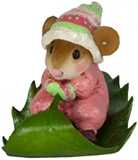 product image for Wee Forest Folk M-629 Holly Express (New Christmas 2017) (Pink)