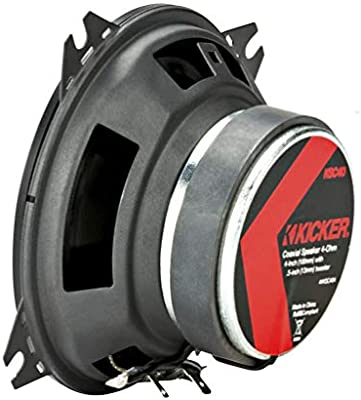 Kicker 44 ksc404 10 cm coaxial de LS Negro: Amazon.es ...