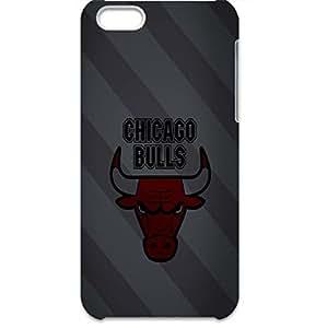 Chicago Bulls Durable Vans Hardshell Plastic Case Cover For Iphone 5c
