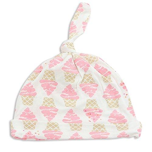 Silkberry Baby Bamboo Knot Hat Ice Cream 0-6m