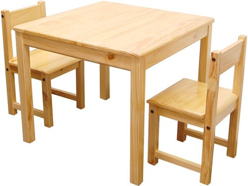 Aspen Table & Chair Set - Natural - 25.5