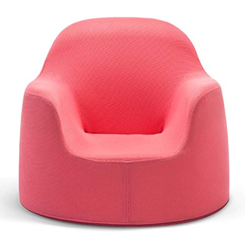Furniture Single Children Sofa Chair Sponge Filling Suitable for Children Aged 0-5 for Living Room, Bedroom 52X44cm (Color : Color#1)