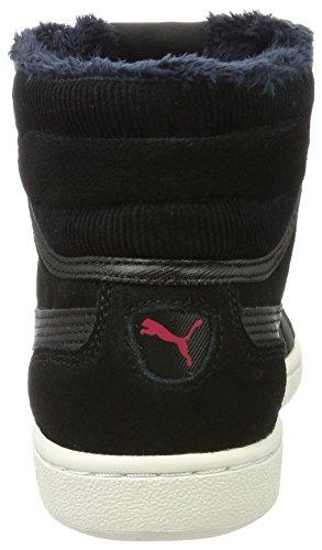 Corduroy Black black Zapatillas Altas Puma para Mid Negro Mujer Vikky BnqxxEv