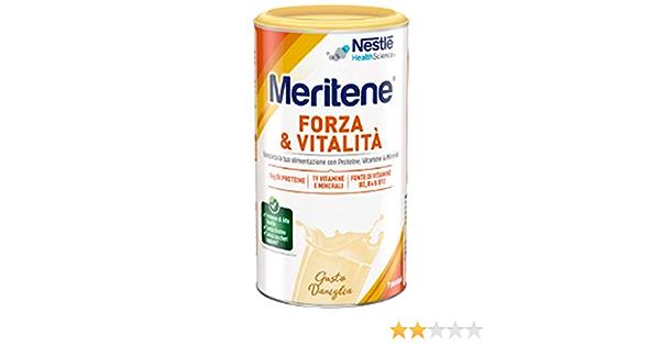 MERITENE VANIGLIA ALIMENTO ARRICCHITO 270 G: Amazon.es: Salud ...