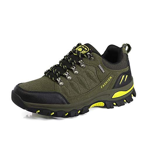 WOWEI Chaussures de Randonnée en Plein Air Imperméable Respirant Antidérapant Bottes de Trekking Promenades Voyages… 1